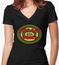 Sick Sad World Women's Fitted V-Neck T-Shirt