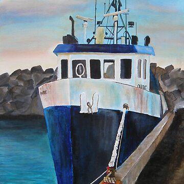 Fishing Boat by JoBaby13