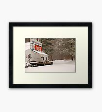 Rabbit Hash General Store in Kentucky Framed Print