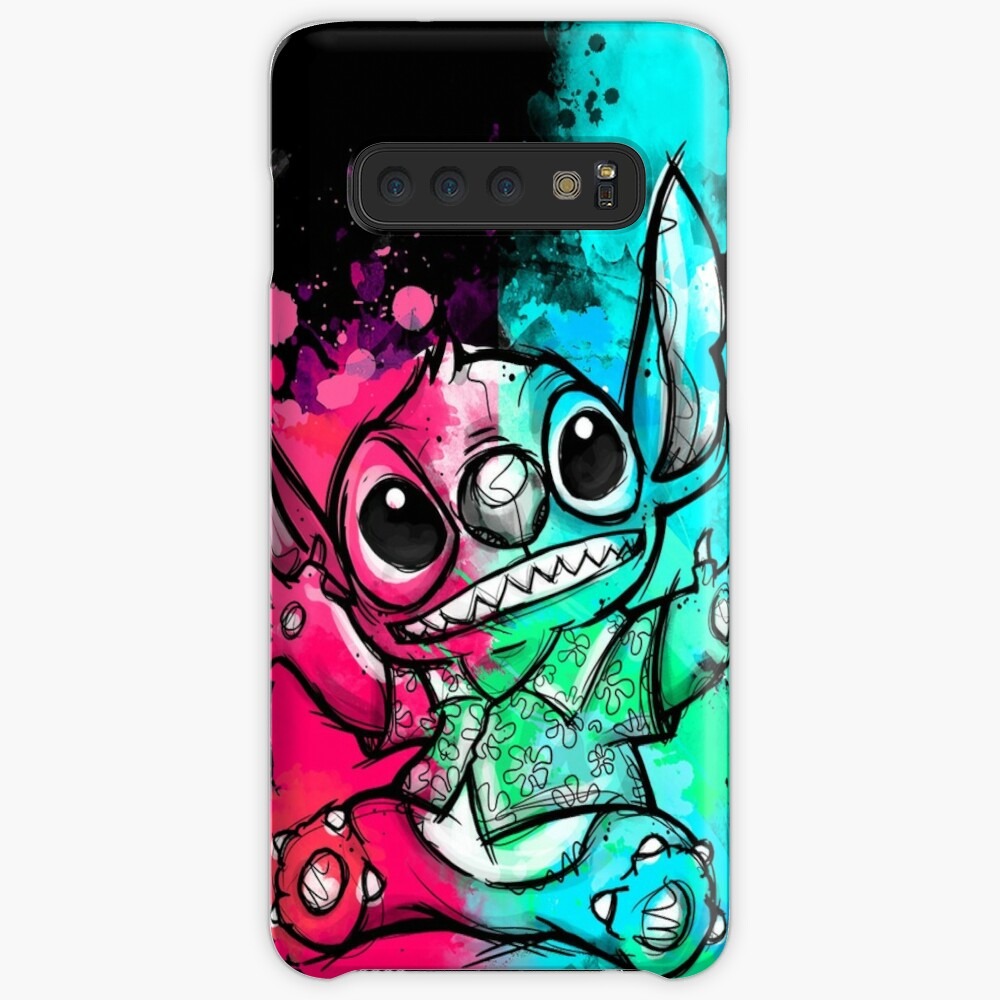 Cuteless Rainbow Stitch - OHANA Funda y vinilo para Samsung Galaxy