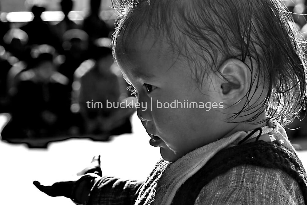 please. ladakhi child, northern india  by tim buckley   bodhiimages