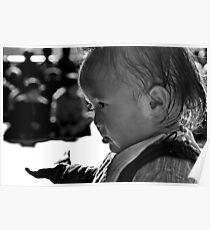 please. ladakhi child, northern india  Poster