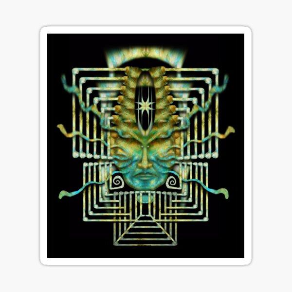 Heru-ra-ha - sun-flesh Sticker