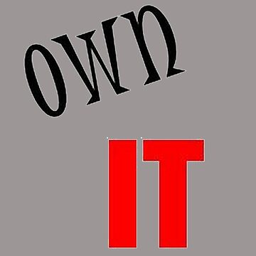 Own It - It Is Yours You Did It  by taiche