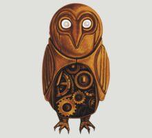 TShirtGifter Presents: wooden owl clock