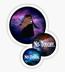 NO TOUCHY. no touch. Sticker