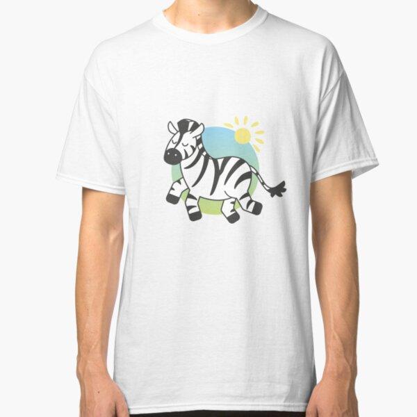 Cute Zebra Classic T-Shirt