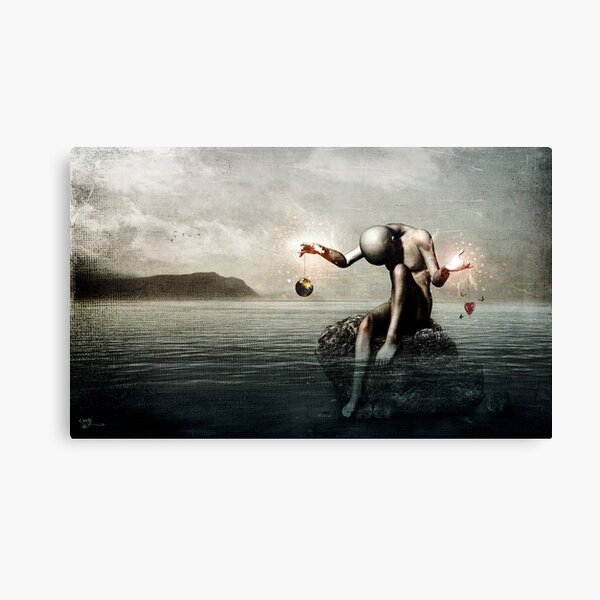 Open Memory: One For Two Canvas Print