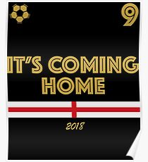 It's coming home - England winners Poster