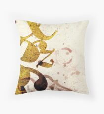 Typography Beauty Throw Pillow