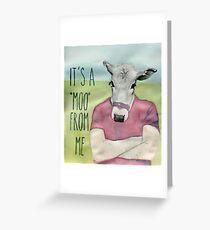 Simon Cowell Greeting Card
