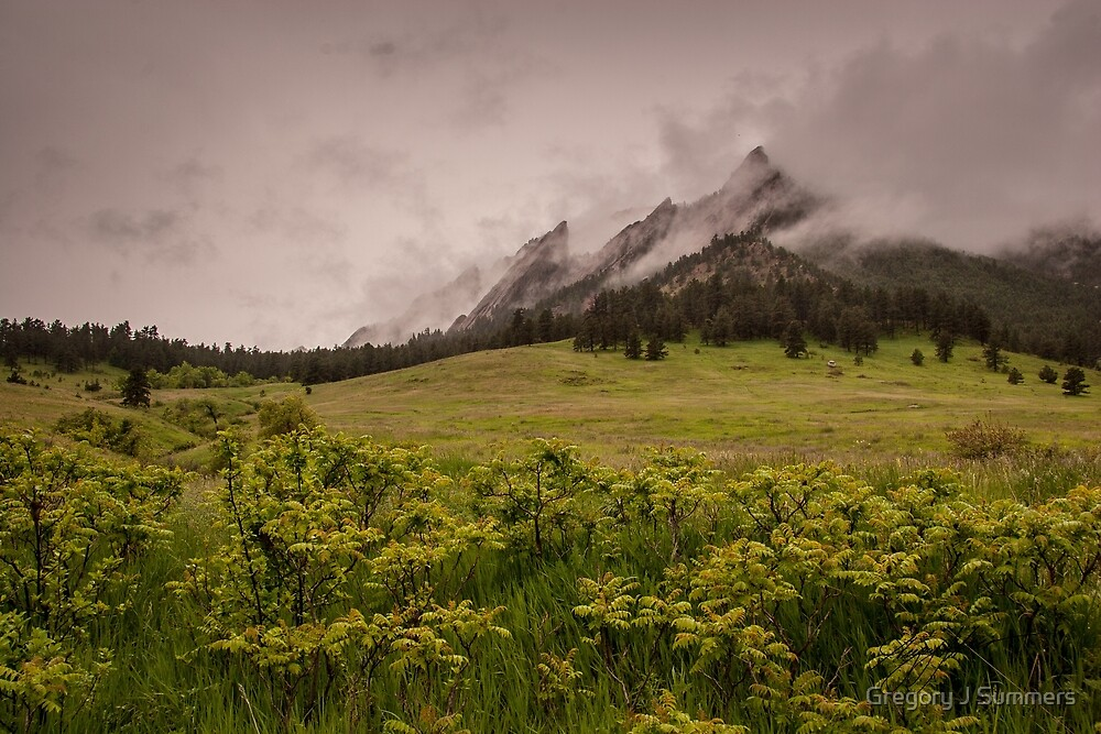 Flatiron Storm by Gregory J Summers