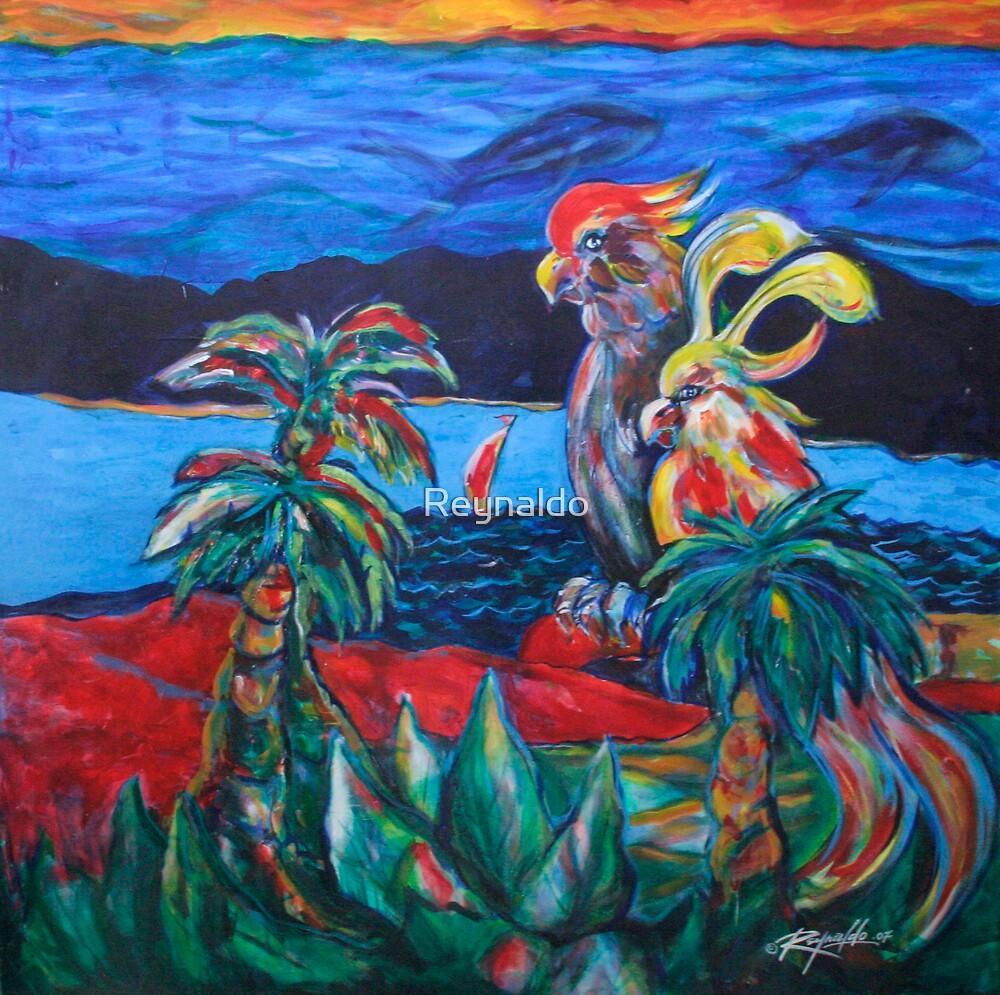 Birds of Paradise by Reynaldo