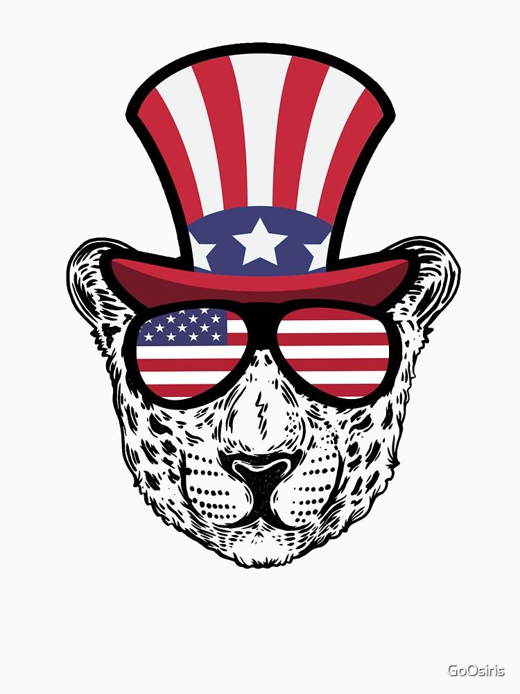 Cheetah Happy 4th Of July de GoOsiris
