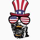 «Zombie Happy 4th Of July» de GoOsiris