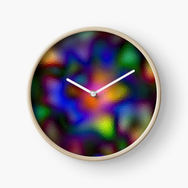 334. Psychedelic Mosaic Clock