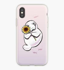 Sunny Manatee iPhone Case