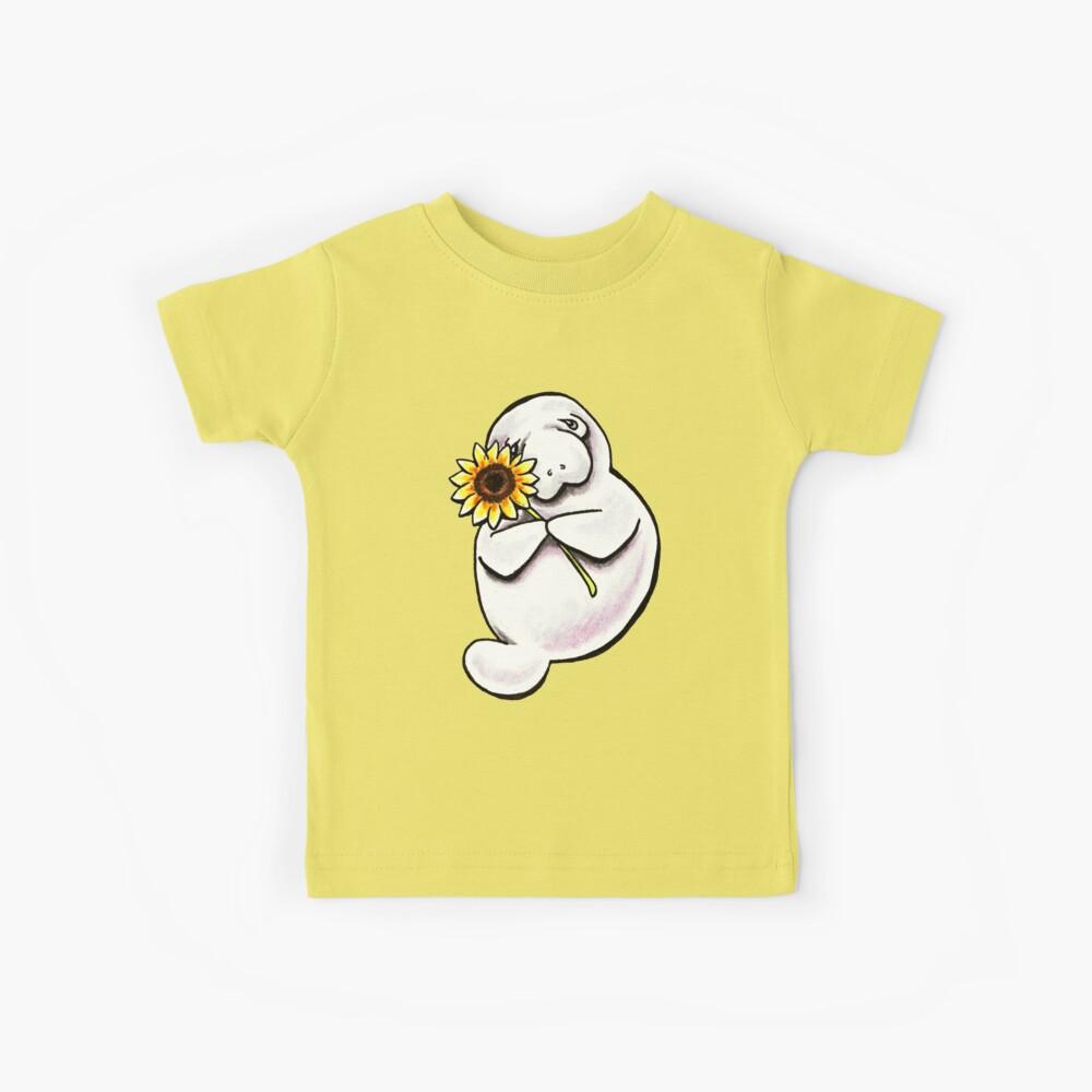 Manatee soleado Camiseta para niños