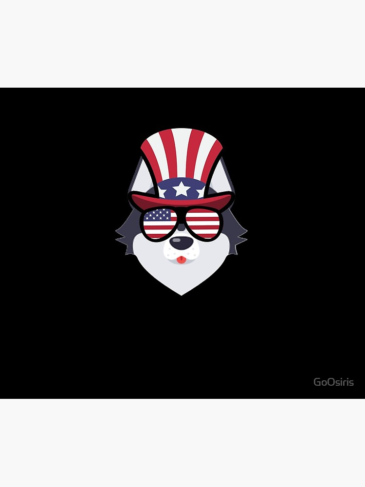 Husky Happy 4th Of July de GoOsiris