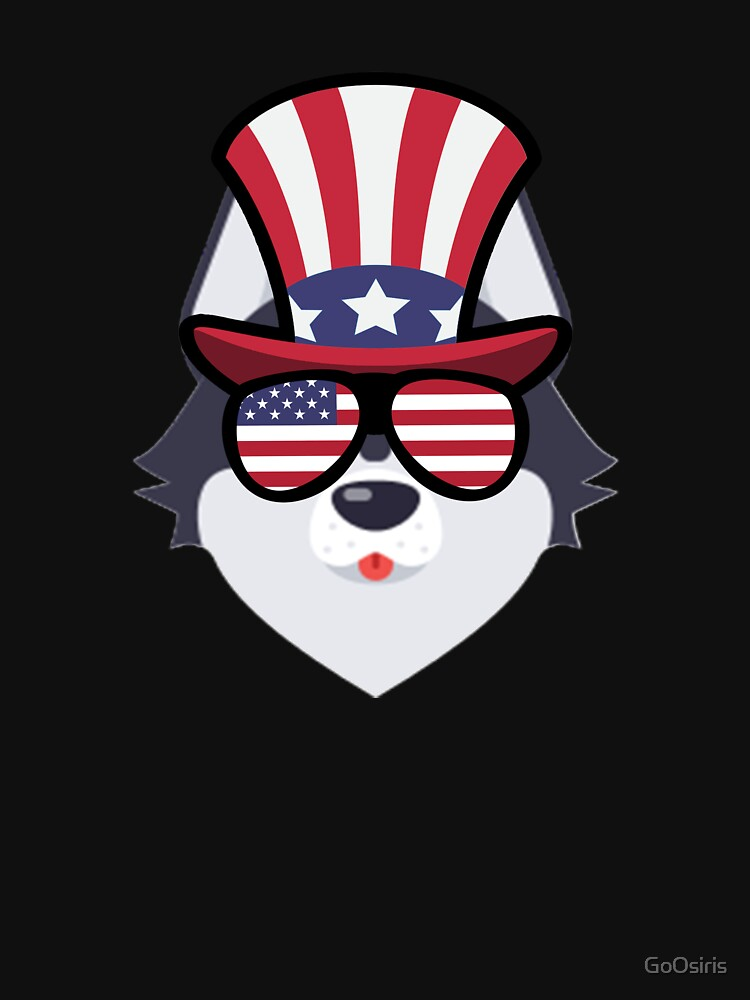 Husky Happy 4th Of July de GoOsiris