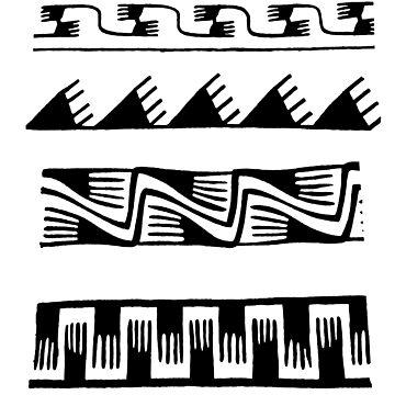 Findigo native pattern - manos - by fenixdesign