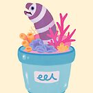 Eel flower pot 2 by pikaole