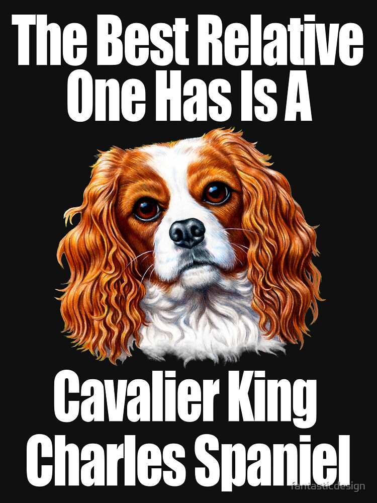 Best Relative Is A Cavalier King Charles Spaniel by fantasticdesign