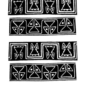 Findigo native cat pattern - sacrat - by fenixdesign