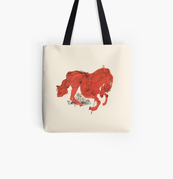 The Catcher in the Rye All Over Print Tote Bag