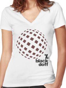 get d dance Women's Fitted V-Neck T-Shirt