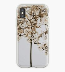 Dried Flowers, Hydrangea, Flowers, Flower, Dried Flower, Watercolor Flowers  iPhone Case