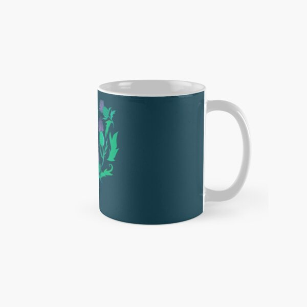 Scottish Thistle Heart Classic Mug