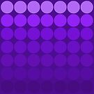 Mod Pop Circles purple tones by dbvisualarts