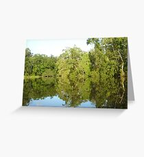 Mirror Image Greeting Card