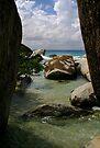 The Baths beach Virgin Gorda by DARRIN ALDRIDGE