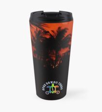 Morning Chat with Apau Hawaii Tours Travel Mug