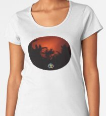 Morning Chat with Apau Hawaii Tours Women's Premium T-Shirt