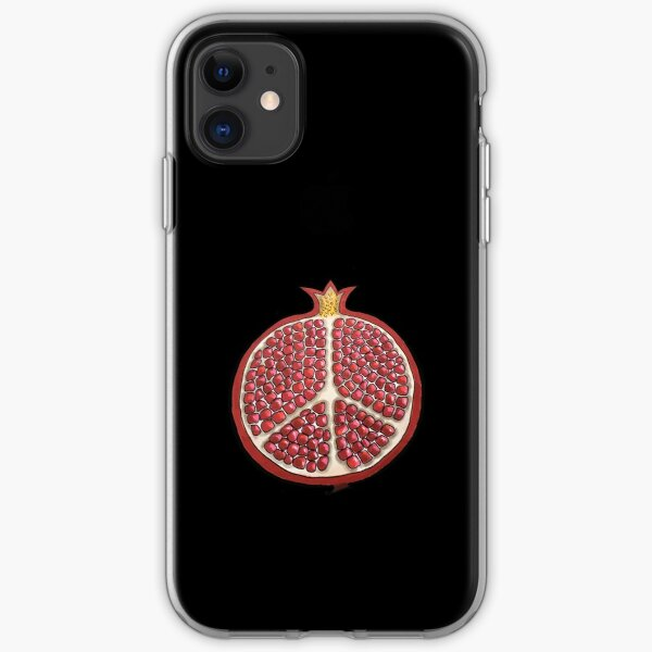 Pomegranate Peace! iPhone Soft Case