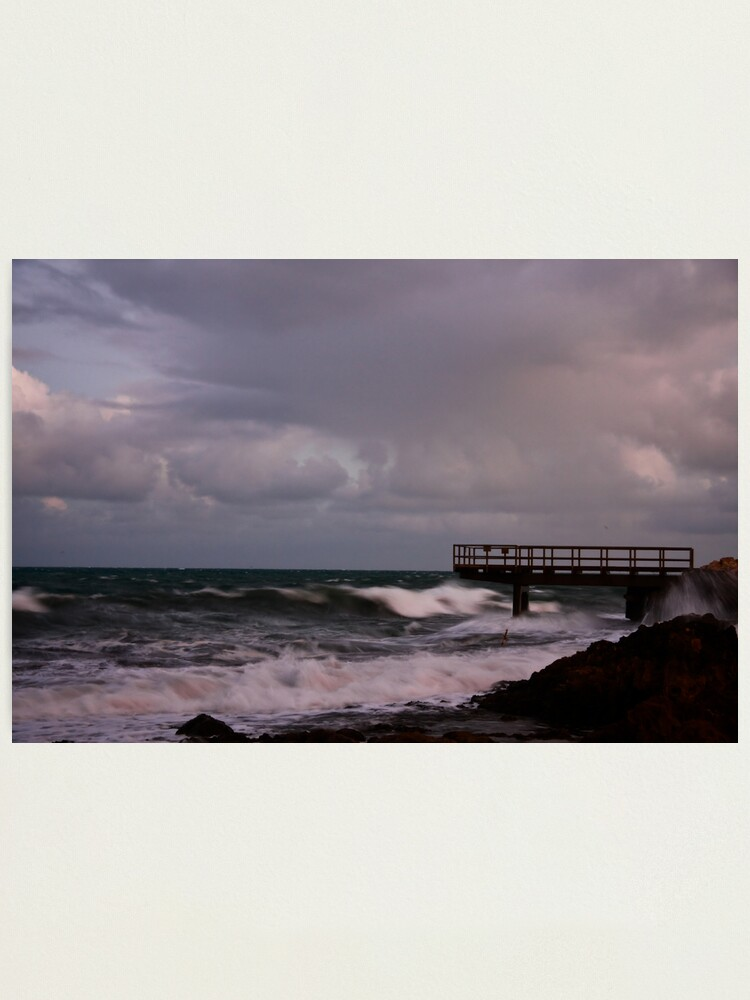 Alternate view of Pier - before dawn light Photographic Print