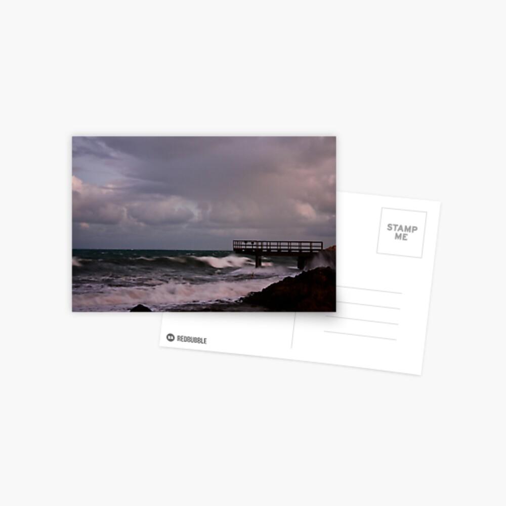 Pier - before dawn light Postcard