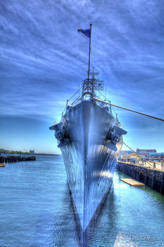 USS Cassin Young-1 by Jack DiMaio