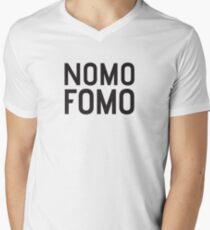 NOMO FOMO Mens V-Neck T-Shirt
