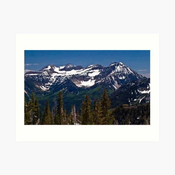 Mt. Timpanogos Art Print