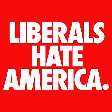 LIBERALS HATE AMERICA. by cpinteractive