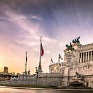 Vittoriano at Dawn by Cliff Williams