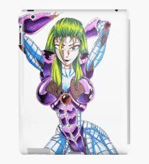 Vinilo o funda para iPad Power Suit Anime Girl