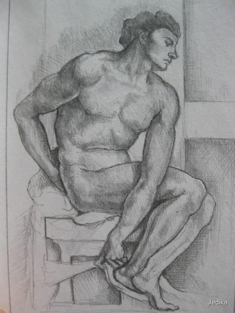 Michelangelo study by Jedika