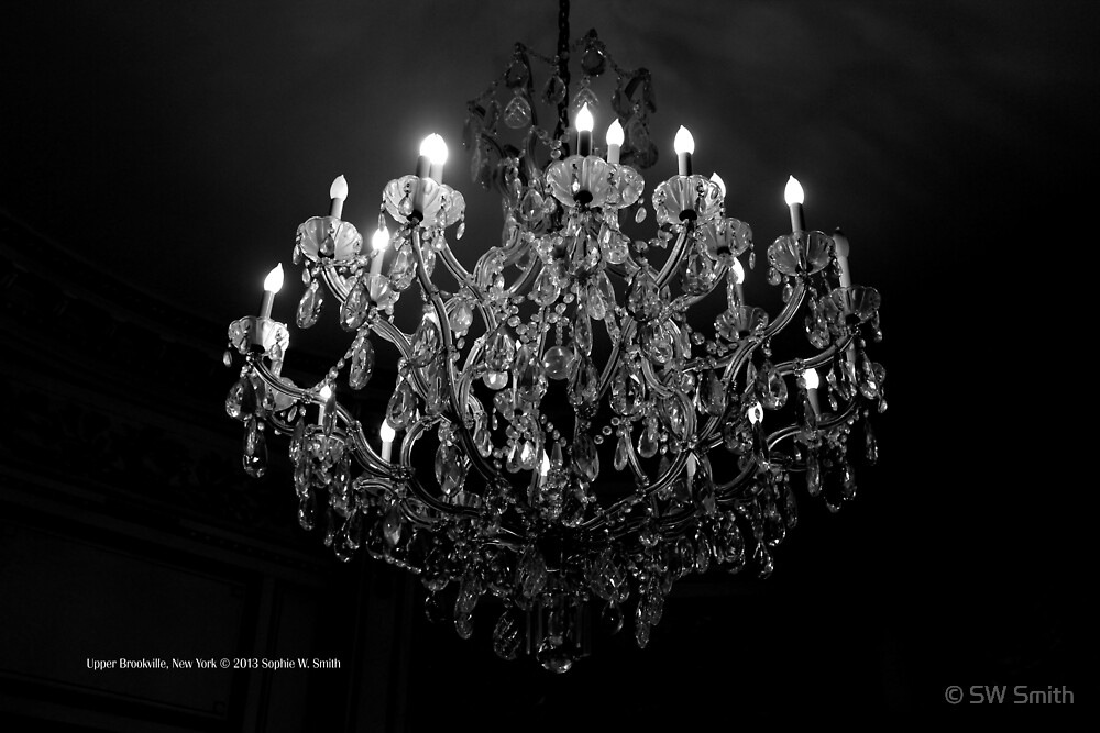 Chandelier | Upper Brookville, New York  by © Sophie W. Smith