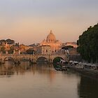 St Peters at Dawn, Rome, Italy by Cliff Williams