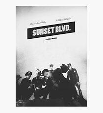 sunset blvd. Photographic Print